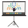 Quartet Quartet® Wide Format Tripod Base Projection Screen QRT 85567