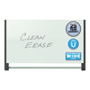 Quartet Quartet® Evoque™ Magnetic Glass Marker Board with Black Aluminum Frame QRT G5028BA