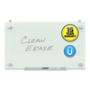 Ring Panel Link Filters Economy: Infinity Magnetic Glass Dry Erase Cubicle Board, 18 x 30, White