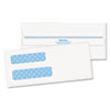 Quality Park Quality Park™ Double Window Security Tinted Invoice and Check Envelope QUA 24539