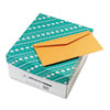 cleaning chemicals, brushes, hand wipers, sponges, squeegees: Quality Park™ Kraft Envelope