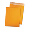 Quality Park Quality Park™ 100% Recycled Brown Kraft Redi-Seal™ Envelope QUA43511