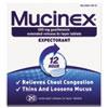 Reckitt Benckiser Mucinex® Expectorant Regular Strength RAC 00820