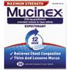 Reckitt Benckiser Mucinex® Max Strength Expectorant RAC02328