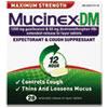 Reckitt Benckiser Mucinex DM Max Strength Expectorant and Cough Suppressant RAC 07228