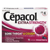 Reckitt Benckiser Cepacol® Extra Strength Sore Throat  Cough Lozenges RAC 74016CT