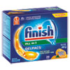 dishwashing detergent and dishwasher detergent: FINISH® Dish Detergent Gelpacs®