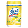 Cleaning Chemicals: LYSOL® Brand Disinfecting Wipes