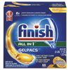 cleaning chemicals, brushes, hand wipers, sponges, squeegees: FINISH® Dish Detergent Gelpacs®