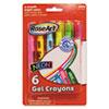 The Board Dudes RoseArt® Gel Crayons Bright Colors RAI 48193AA24