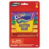 The Board Dudes RoseArt® Confetti Glitter Glue Sticks RAI 48310