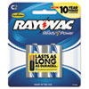 c batteries: Rayovac® Mercury Free Alkaline Batteries