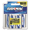 c batteries: Rayovac® Alkaline Recloseable Carded Batteries