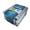 aa batteries: Alkaline Battery, AA, 48/Pack