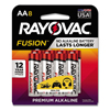 aa batteries: Rayovac® Fusion Performance Alkaline Batteries