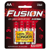 aa batteries: Fusion Advanced Alkaline Batteries, AA, 8/Pack