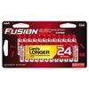 aaa batteries: Fusion Advanced Alkaline Batteries, AAA, 24/Pack