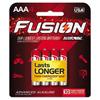 aaa batteries: Fusion Advanced Alkaline Batteries, AAA, 4/Pack