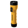 Electrical & Lighting: Industrial Tough Flashlight, Krypton Bulb, Yellow/Black
