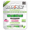 d batteries: Rayovac® Recharge Plus NiMH Batteries
