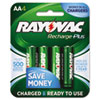 aa batteries: Rayovac® Recharge Plus NiMH Batteries