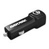 Rayovac Single USB Car Charger, 1 USB Port, Black RAY PS102