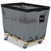 Janitorial Carts, Trucks, and Utility Carts: Royal Basket Trucks Spring Lift