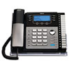 RCA RCA® ViSYS™ Four-Line Corded Expandable Business Phone System RCA 25424RE1