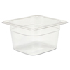 Rubbermaid Commercial Cold Food Pans RCP 105P CLE