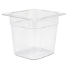 Rubbermaid Commercial Cold Food Pans RCP 106P CLE