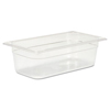 Rubbermaid Commercial Cold Food Pans RCP 117P CLE