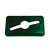 Rubbermaid Commercial Rubbermaid® Commercial Slim Jim® Single Stream Recycling Top RCP 1788373CT