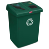 Rubbermaid Commercial Glutton® Recycling Station RCP1792340
