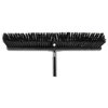 brooms and dusters: Rubbermaid® Commercial Executive Series Heavy Duty Push Broom Rough Surface