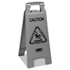 Rubbermaid Commercial Rubbermaid® Commercial Executive 2-Sided Multi-Lingual Caution Sign RCP 1867506CT