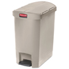 Rubbermaid Commercial Rubbermaid® Commercial Slim Jim® Resin Step-On Container RCP 1883457