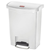 Rubbermaid Commercial Rubbermaid® Commercial Slim Jim® Resin Step-On Container RCP 1883555