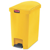 Rubbermaid Commercial Rubbermaid® Commercial Slim Jim® Resin Step-On Container RCP 1883574