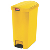 Rubbermaid Commercial Rubbermaid® Commercial Slim Jim® Resin Step-On Container RCP 1883576