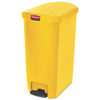 Rubbermaid Commercial Rubbermaid® Commercial Slim Jim® Resin Step-On Container RCP 1883578