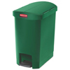 Rubbermaid Commercial Rubbermaid® Commercial Slim Jim® Resin Step-On Container RCP 1883583
