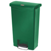 Rubbermaid Commercial Rubbermaid® Commercial Slim Jim® Resin Step-On Container RCP 1883584