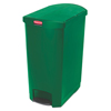 Rubbermaid Commercial Rubbermaid® Commercial Slim Jim® Resin Step-On Container RCP 1883589