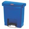 Rubbermaid Commercial Rubbermaid® Commercial Slim Jim® Resin Step-On Container RCP 1883590