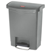 Rubbermaid Commercial Rubbermaid® Commercial Slim Jim® Resin Step-On Container RCP 1883600