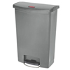 Rubbermaid Commercial Rubbermaid® Commercial Slim Jim® Resin Step-On Container RCP 1883606