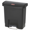 Rubbermaid Commercial Rubbermaid® Commercial Slim Jim® Resin Step-On Container RCP 1883608