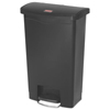 waste container: Rubbermaid® Commercial Slim Jim® Resin Step-On Container