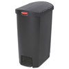 Rubbermaid Commercial Rubbermaid® Commercial Slim Jim® Resin Step-On Container RCP 1883612