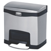 rubbermaid: Rubbermaid® Commercial Slim Jim® Stainless Steel Step-On Container